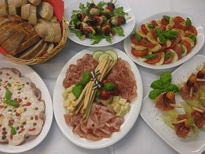 Italienisches Vorspeisenbuffet